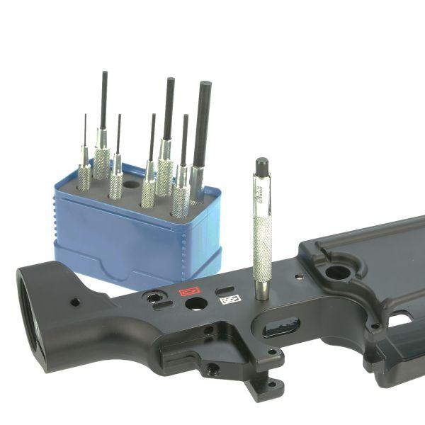 Rennsteig Werkzeug Splintentreiber / Durchtreiber Satz 8-teilig zum Waffen zerlegen