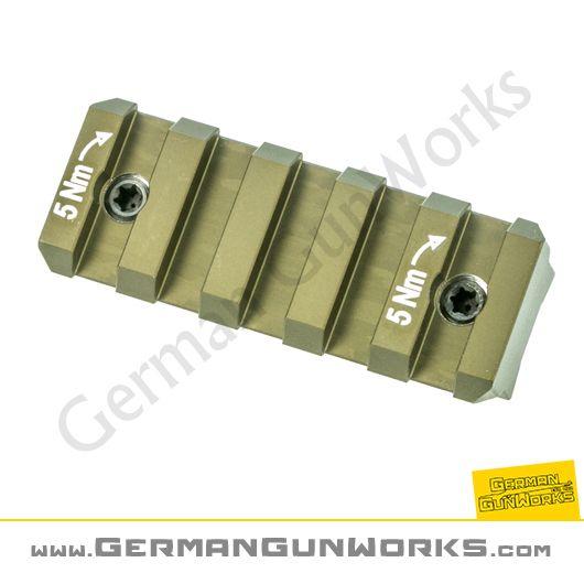 Heckler & Koch 54mm Hkey Keymod Picatinny Schienen