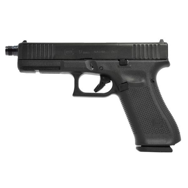 Glock 17 Gen5 FS MOS mit Mündungsgewinde M13,5x1 links 9mm Luger