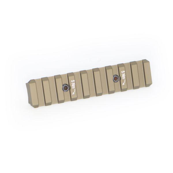 Heckler & Koch 95mm HKey Picatinny Schienen Sandfarben