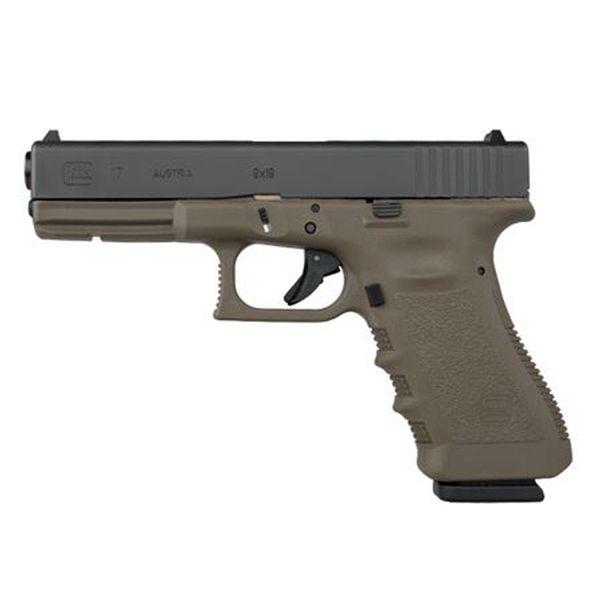 Glock 17 Oliv 9mm Luger