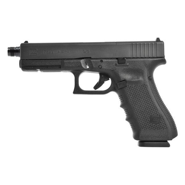 Glock 17 Gen4 MOS mit Mündungsgewinde M13,5x1 links 9mm Luger
