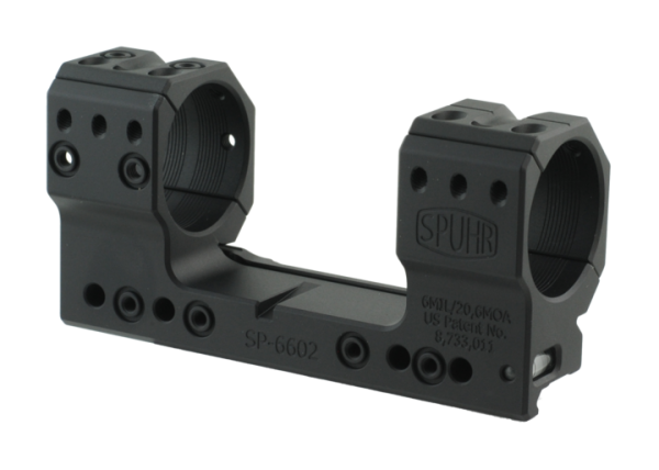 SP-6602 Spuhr Blockmontage ø36 H38 mm 6MIL PIC