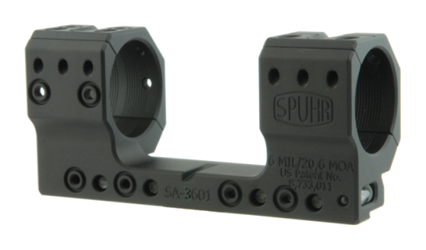 SA-3601 Spuhr Blockmontage ø30 H35 mm 6MIL AI