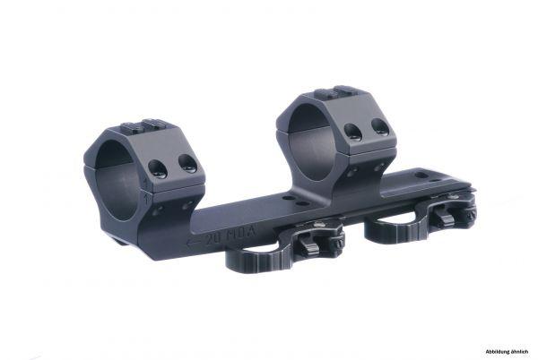 ERATAC QD Blockmontage ø 30 H 37 / 22 mm 20 MOA Cantilever 75 mm
