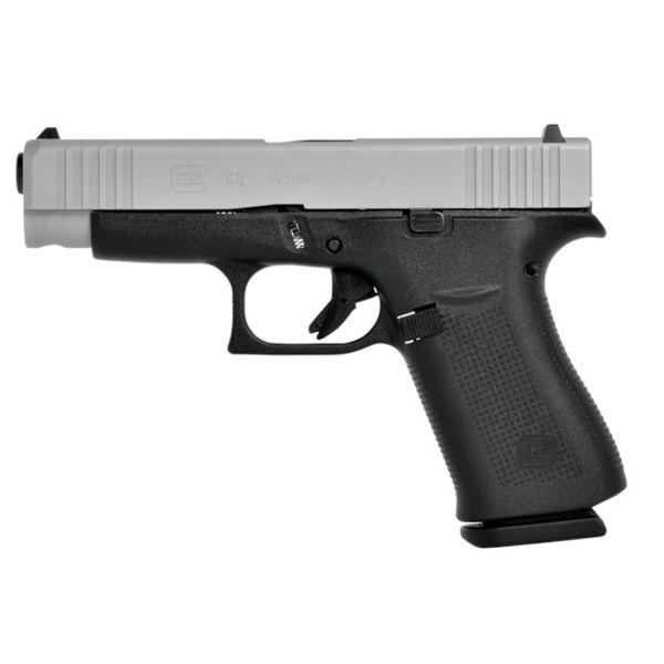 Glock 48 FS (silver slide) 9mm Luger