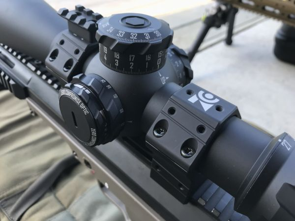 ZCO Zero Compromise Montageringe ø 36 mm