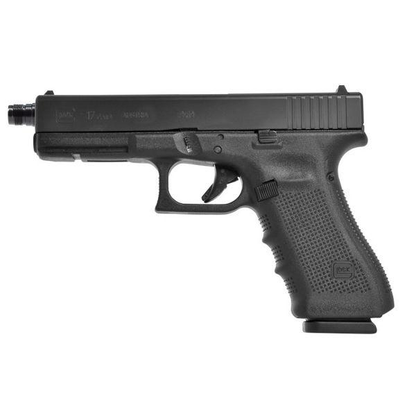 Glock 17 Gen4 mit Mündungsgewinde M13,5x1 links 9mm Luger