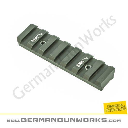 Heckler & Koch 74mm Hkey Keymod Picatinny Schienen