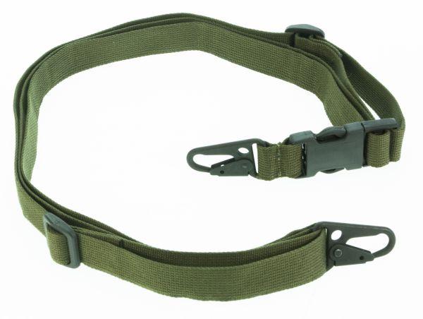 Heckler & Koch G36 / HK243 Trageriemen ohne Schnellverschluss, 20 mm, olivgrün