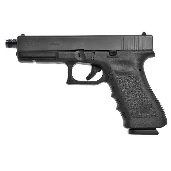 Glock 17 mit Mündungsgewinde M13,5x1 links 9mm Luger